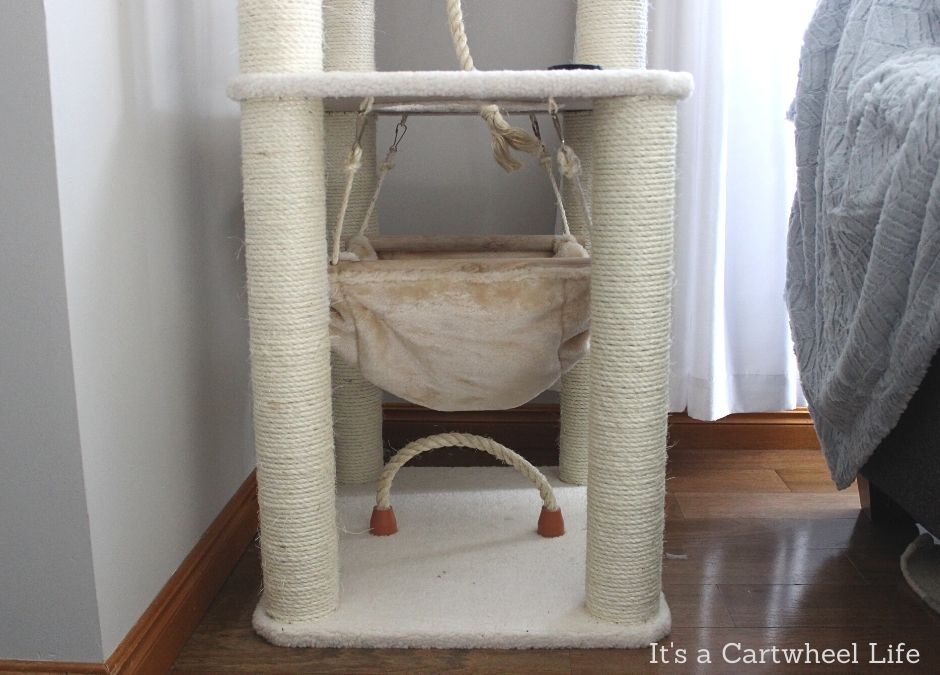 base section of cat tree