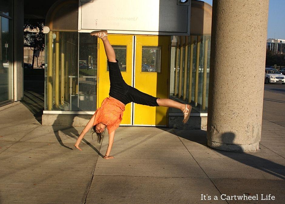 cartwheeling in Quebec